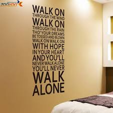 wish walk on through the wind wall sticker bedroom wall decal alphabet letter stickers home decor design non toxic art