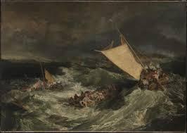 joseph mallord william turner the shipwreck exhibited 1805