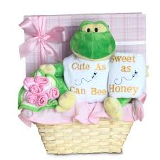 forever baby book cute as can bee baby boy gift basket