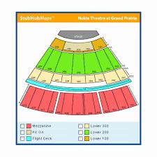 Nokia Grand Prairie Seating Chart 44 You Will Love The Theatre At Grand Prairie Seating Chart
