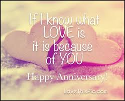 Love Anniversary Quotes Beauteous If I Know What Love Is Happy Anniversary Pictures Photos And