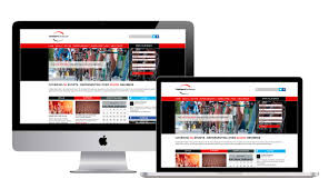 Web Design West Lothian Club Sport Edinburgh Website Web And Graphic Design And