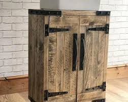 Awesome Rustic Industrial Vanity Unit