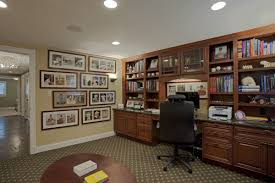 this case design remodeling remodel converted the existing living room into an office den and borrowed unused room from the remaining floor plan to create