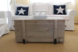 Details About Wooden Box Shabby Chic Cargo Box Vintage Chest Transport Coffee Table Gray