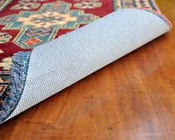 rug hold by rug pad central runner area rug pad nonslip felt rubber non