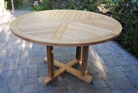 55 round fixed table