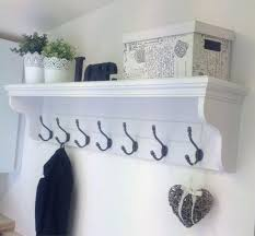 Mounted Coat Rack With Shelf Entryway Hooks And Shelves Best Wall Coat Rack Ideas On Entryway 91