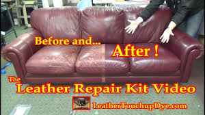 leather repair kit video you