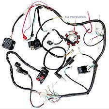 amazon com 200cc 250cc atv quad full electrics cdi coil rectifier 200cc 250cc atv quad full electrics cdi coil rectifier wiring harness wire loom