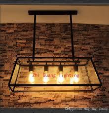 industrial bar lighting. American Loft Retro Industrial Bar Lights Nordic Creative Restaurant Living Room Personalized Glass Chandeliers Pendant Track Lighting Vintage DHgate.com