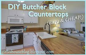 if you ve read my blog before you know that i have beautiful new granite countertops in my kitchen then why in the world am i talking about butcher block