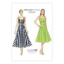 Vogue Dress Patterns Cool VOGUE SEWING PATTERN MISSES VERY EASY VOGUE DRESS SIZE 48 48 V48