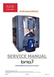 Necta Vending Machine Manual Delectable Brio 48 Service Manual