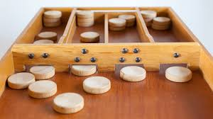 Dutch Game With Wooden Discs Comparing Table Shuffleboard With Dutch Shuffleboard Sjoelen 3