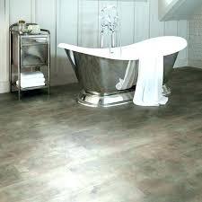 lino flooring bathroom oak effect