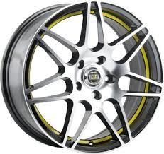 Wheel disc ALCASTA M28 8x18/5x112 D66.6 ET39 Black - buy at ...