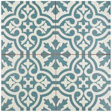 blue tiles. Unique Tiles Merola Tile Berkeley Blue 1758 In X 175 With Tiles S