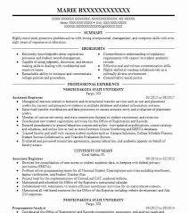 Associate Registrar Sample Resume Extraordinary Associate Director Resume Example Clark University Worcester