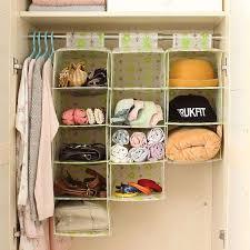 new designer waterproof wall hanging pocket organizer closet storage concept of hanging closet system