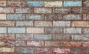 chalk painted brick wall stock image image of craft 60312175