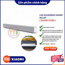 XẢ KHO THANH LÝ Loa Soundbar Xiaomi Millet ( Trắng - Đen ) XẢ KHO THANH LÝ