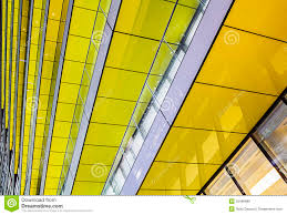 architecture yellow. abstract architecture modern yellow