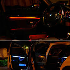 How To Change Bmw Interior Lights Color Interior Led Decorative Atmosphere Strip Lights For B Mw 5