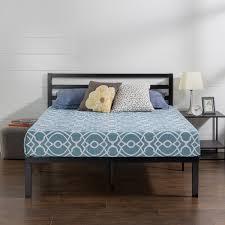 platform bed frame with headboard. Perfect Headboard Priage Quick Lock 14 Inch Metal Platform Bed Frame With Headboard And With O