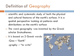Pattern Geography Definition Simple Unit 48 Geography And Its Perspectives Ppt Download