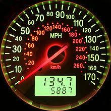 10 Pulse Speedometer Calibration Chart Speedometer Wikipedia
