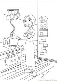 Small Picture Colette In The Kitchen Coloring Page Free Ratatouille Coloring