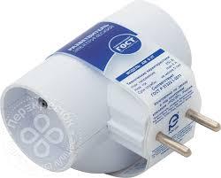 Купить <b>Разветвитель</b> электрический Фотон АМ <b>6</b>-3Т тройник 6А с ...