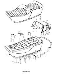 1979 suzuki gs850g seat parts best oem seat parts diagram for su0111 036 m12821sch267650