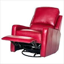 red leather rocker recliner chair small swivel finest ideal faux sw leather swivel recliner chair small rocker