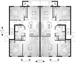 sweet remarkable ideas dual family house plans full lehigh multi family fourplex plan d house plans
