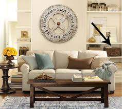 ... First Got The Idea From This Pottery Barn Living Room Pottery Barn Small