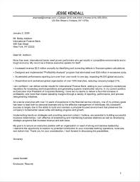 Cover Letter Entry Level Financial Analyst Form Letters