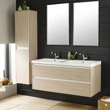 Light Oak Bathroom Furniture Hudson Reed Erin Light Oak Double Basin Furniture Pack 1200mm