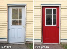 painting garage doorPainting My Garage Door Red  Blog  homeandawaywithlisa