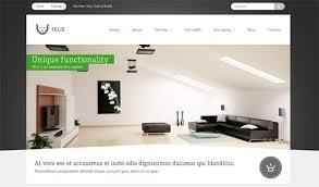 Interior Design Website Design Templates 40 Interior Design Fascinating Furniture Website Design