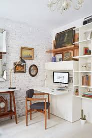 Home office nook Mini image Credit Marili Forastieri Apartment Therapy 10 Perfect Living Room Home Office Nooks Short On Space But Not