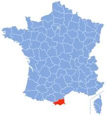 """Résultat de recherche d'images pour """"carte localisation du département des Pyrénées-Orientales"""""""
