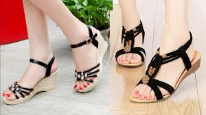 Latest Footwear Design Daily Wear Womens Flat Sandals Design Collection 2018 Latest Fancy Sandals Images Photo