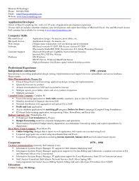 Resume Examples Inspiring 10 Best Resume Excel Template Computer