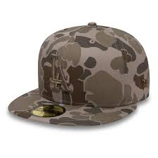 Details About Mlb Los Angeles Dodgers New Era Steel Clouds Camo 59fifty Fitted Cap Hat Kids