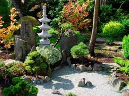 Backyard Rocks Lawn Garden Deluxe Asian Style Backyard Rock Garden Design