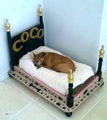 pet bed end table tables dog beds made out of octagon