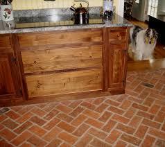 Rectangular Kitchen Tiles Kitchen Astonishing Kitchen Decoration With Visible Brown Beam