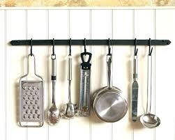 pot rack chandelier copper wall pan mounted holder garden with downlights pot rack chandelier